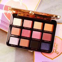 DHL free Faced Makeup White Peachy 12 Color eyeshadow palett...