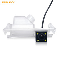 FEELDO Auto-hintere Ansicht-Parken-Kamera mit LED für KIA K2 Rio Fließheck KIA Ceed 2013 KIA 5-Türer Rio / Stolz # 5709
