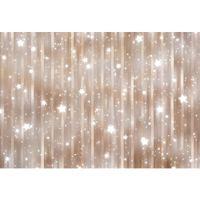 Twinkle Twinkle Little Stars Fondale per fotografia Stampato strisce verticali Baby Kids Holiday Party Glitter foto sfondi