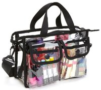 f3525462c1c67 Wholesale small transparent beach bags for sale - EVA Waterproof Transparent  Travel Cosmetic Bag Beach Outdoor