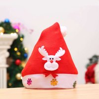 Red Santa Claus Chrismas Party Decorations Hat For Adults Ki...