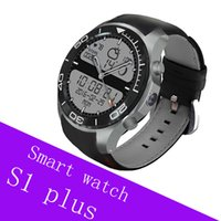 Smart Watch S1 Plus Smartwatch Android 5.1 Tarjeta SIM TF MTK6580 Frecuencia cardíaca WiFi GPS Bluetooth Reloj inteligente Hombres Cámara 2MP
