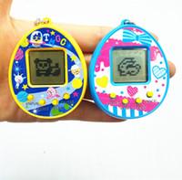 Yeni Tamagotchi Elektronik Evcil Oyuncaklar 90 S Nostaljik 168 Tek Bir Sanal Siber Evcil Pet Oyuncak 6 Stil Tamagochi Penguenler oyuncak ücretsiz DHL