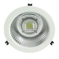 LED 방수 IP65 다운 라이트 80W 70W 60W AC100-240V 100LM / W PF0.95 알루미늄 합금 다운 라이트 실내 램프 천장 조명 심천 중국