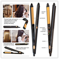 Hair Straightener Professional steam styler Curler Flat Iron...