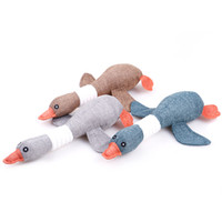 Pet Dog Wild Goose Sound Chew Playing Toys Solid Resistance ...