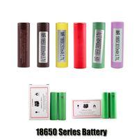 최고 품질 INR18650 25R HG2 30Q VTC6 3000mAH HE2 HE4 2500mAh VTC5 18650 배터리 VAPE MOD SONY SANGUNG LG 용 충전식 리튬 배터리