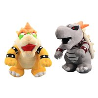 Hot ! Super Mario Bros Yellow Bowser Koopa And Gray Bones Bo...