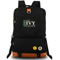 Ivy League Schoolbag University of DayPack All Good Rucksack College Emblem Ryggsäck Laptop School Bag Outdoor Day Pack