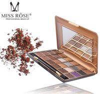 Новый высокое качество Мисс Роза 24 цвета мерцание матовая палитра теней для век профессиональный тени для век макияж палитра натуральная косметика для глаз