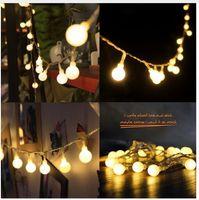 10m 100 LED 110V 220V IP44 야외 여러 가지 빛깔의 LED 문자열 조명 크리스마스 조명 휴일 웨딩 파티 장식 Luces LED