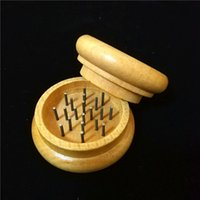 Wholesale Wood Tobacco Grinders wooden herb handle grinders ...
