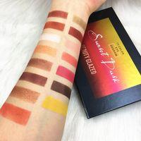 15 لون Denonas Lila Eyeshadow Palette Pressed Highlighter Powder Natashas Glitter Sunset Eyeshadow Pallete by Beauty Glazed