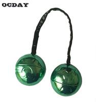 Ocday led يويوس الكرة الخضراء فنجر حزمة التحكم لفة لعبة المفاصل مكافحة الإجهاد لعب اللمعان الاطفال اللعب mokuru مع صندوق معدني