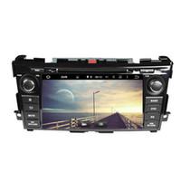 مشغل DVD للسيارات لـ NISSAN Tenna Altima 8inch Andriod 6.0 مع GPS ، تحكم عجلة القيادة ، Bluetooth ، راديو ، 2GB RAM