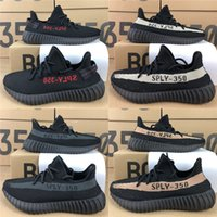 350 V2 Static Shoes Kanye West Running Shoes Zebra Beluga 2....