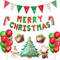 Christmas Balloon Kit Christmas Indoor Decoration Santa Clau...