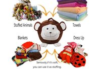 3 styles Kids Storage Bean Bags Plush Toys Beanbag Chair Bed...