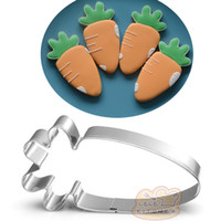 10pcs carrot Metal Cookie Cutter vegetables Fondant Cake Dec...