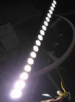 L'alta automobile luminosa luminosa di 180 watt ha condotto la colata bianca di Xenon di bianco 10 - 30V di alluminio nero