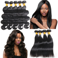 Peruvian Body Wave Human Hair Bundles Brazilian Body Wave St...