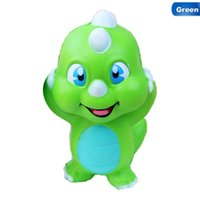 Jumbo Multicolor Green Dinosaur Anti- stress Slow Rising Kawa...