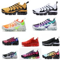 Sunset Total Orange Tiger Vapormax PLUS TN Running shoes Gra...