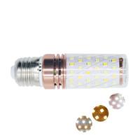 Edison2011 E27 E14 12W 16W 220V Bombilla de maíz LED SMD2835 3 temperaturas de color LED brillante alto Luz de velas para la vida en el hogar