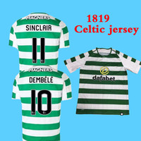 SINCLAIR home green white Soccer Jersey 18 19 DEMBELE away S...