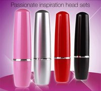 2018 Lipstick vibration massage stick private lipstick massa...