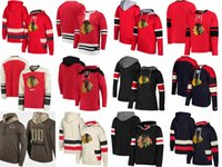 Sweat à capuche des Blackhawks de Chicago Duncan Keith Patrick Kane Sweat-shirt en jersey de hockey Corey Crawford Hossa Corey Jonathan Toews