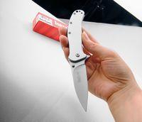 Оптовая kershow 1730 ss быстро открыть ножи складной нож кемпинг охота выживания нож Застежка EDC инструменты открытый складной подарок нож
