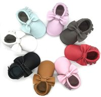 High Quality EU Standard Genuine Leather Baby Moccs, Baby Gir...