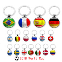 2018 Russia World Cup Football Keychain Football Match Key B...