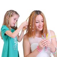 لطيف أزياء أطفال فتاة أمي بكرة الشعر جديلة ملصق الطفل ديكور اكسسوارات للشعر دوامة تدور دبوس الشعر باريت