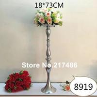 çiçek kase, şamdan çiçek centerpieces ile uzun boylu ve büyük zemin ayakta altın mumluk