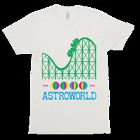 Astroworld album Sleeve Tee Men T- Shirt Free Shipping Top Te...