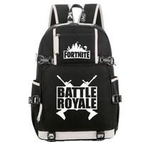 Battle Royale mochila Fort nite pacote dia escolar Cool jogo Mochileiro saco dos desenhos animados mochila Qualidade Esporte mochila mochila ao ar livre
