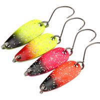 Мини-тонкий форма приманки крепкий железа рыбалка с крючком приманки практические 3G искусственные стрекозы форма 3 см Pesca много цветов 1 6YJ ZZ