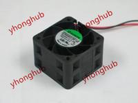 SUNON PMD2404PQB1-A (2) .B2639.GN.156 DC 26V 3.3W 2 fils 40x40x28mm serveur Square Fan