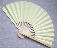 ハンドファンファンウェディングファン500ピース/ロットアート手作り中国のシルク折りたたみ竹送料無料