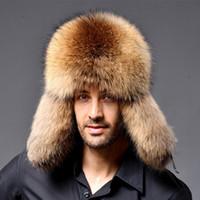 Di alta qualità degli uomini di spessore reale cappello di pelliccia con  paraorecchie c2c92a88e9cd