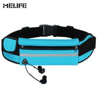 MELIFE Waterproof Men' s Waist Pack Multifunctional Fann...