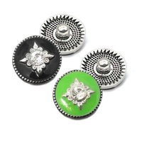 Corazón de alta calidad W160 18mm 20mm rhinestone botón de metal para el botón a presión Pulsera Collar de Joyería Para Las Mujeres joyería de Plata
