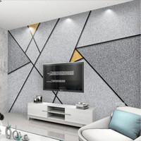 Özel modern 3d fotoğraf duvar kağıdı 3d dokunmamış duvar resimleri duvar kağıdı basit 3d geometrik tasarım tv kanepe arka plan duvar ev dekor
