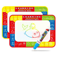 Penne magiche Acqua Disegno Pittura Scrittura Tela Doodle Mat Pad Bordo Apprendimento Giocattoli educativi Regali per i bambini