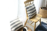 Nordic style cushion covers in 2 sizes strip cushion cover c...