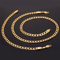 New Fashion Gold Color Chains 7MM Width Hiphop Necklace For ...