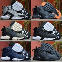 2017 Huarache 6 X Acronym City MID Leather High Quality Huar...