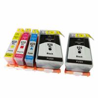 Nuevo cartucho de tinta 920XL 920 XL color negro para HP 920XL Officejet 6000 6500 6500a 7000 7500a